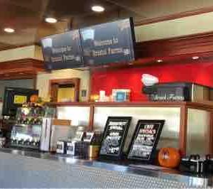 どんどん閉店時間が早まってしまうBristol Farm Cafe