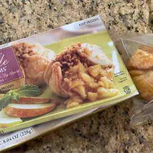 夜更けにアップルパイが食べたくて トレーダージョーズのApple Blossoms