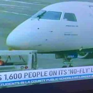 """""""No-Fly""""リスト 暴れる人は乗せません!"""