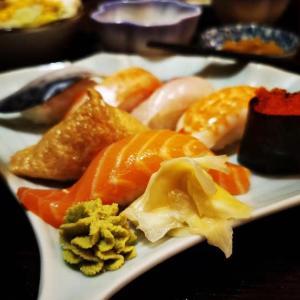 日本料理→アナ雪2→義父の家→スーパー銭湯