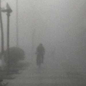 天気悪いね…