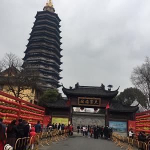 2021年天宁寺で初詣