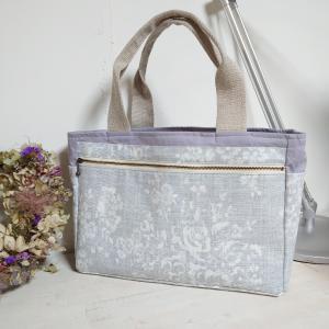 薔薇の挿し木 &  仕切り付きトートバッグ