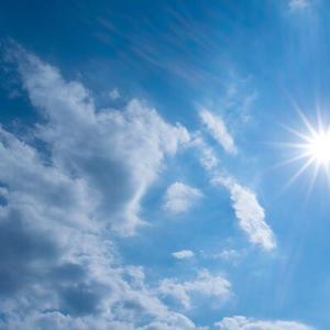 暑っ苦しいのは嫌ですが、晴れ間が恋しいです