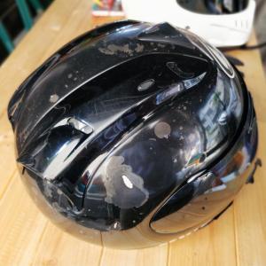 おニューのヘルメット