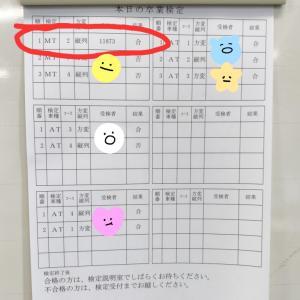 普通自動二輪持ちおっさんの普通自動車(MT)免許取得日記 〜卒業検定~