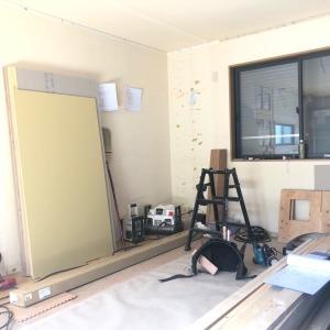 自宅キッチン 料理教室のリフォーム7.リフォーム工事前半