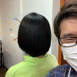 オイルケア縮毛矯正 つや髪JC編