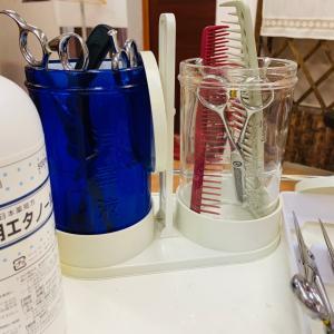 器具、店内の消毒 感染症対策 1人営業サロン