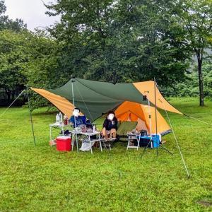 1泊キャンプ