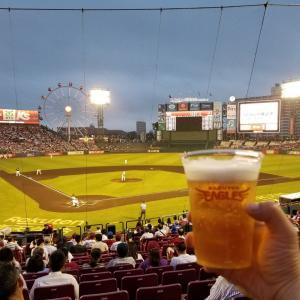 2日連続で野球観戦