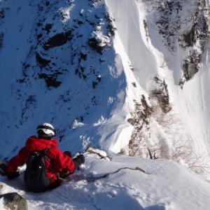 雪の西穂高岳は戦慄の恐怖が待っていた! 西穂山荘テント泊