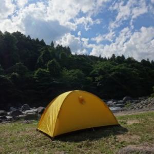 沼ッ原から那須岳周回して河原でキャンプ