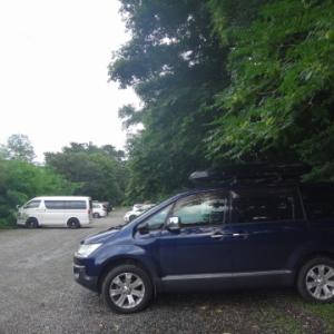 角渕キャンプ場でキャンプして榛名山を散歩