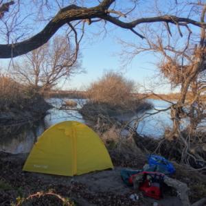都会の無人島でキャンプ!
