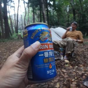 いつもの森で川友と