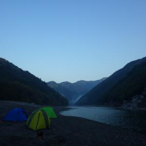 GW後半は、カヌー四国遠征 清流 仁淀川・四万十川