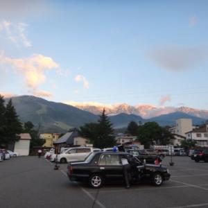 白馬三山から難所不帰の嶮を越え唐松岳までテント泊縦走