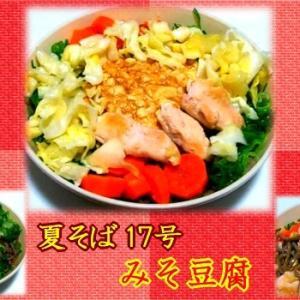 【夏そば17号】 みそ豆腐