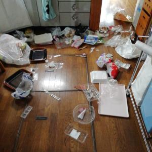 事件は台所で起きていた