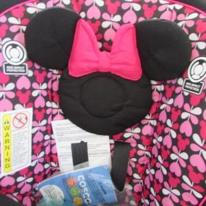 日本未発売の超かわいいミニーマウスのチャイルドシートを発送しました★アメリカ売れ筋バイマ店