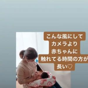 カメラより赤ちゃんに触れている時間の方が長い^^
