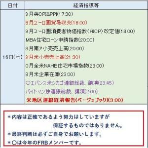 10月14日(月)一週間のスタート!~今週のイベントスケジュールを~