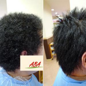 夢だった髪型を作るお手伝いを男性縮毛矯正で、させて下さい