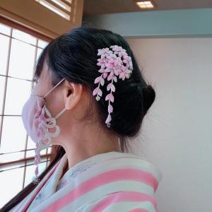 和洋コンサートでマスクチャームつけました!