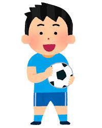 サッカーとエビ