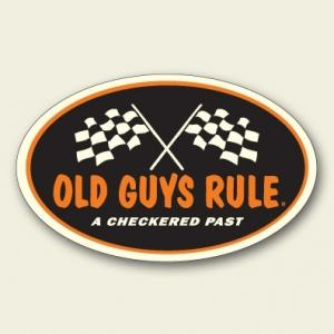 OLD GUYS RULE ステッカー