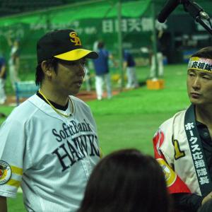 2011年6月の柳田悠岐は代走要員だった(ホークスvsスワローズ)