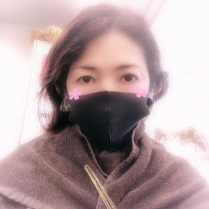 マスクで美容院♡