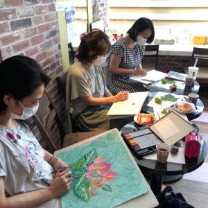 大人のための優しい絵画教室・スィートピークラス