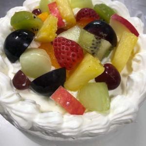 記念日ケーキと...