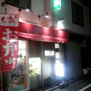 馬場南海のカキフライとしょうが焼きライス/高田馬場