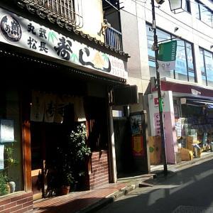 寿司屋で寿司ランチ/東中野