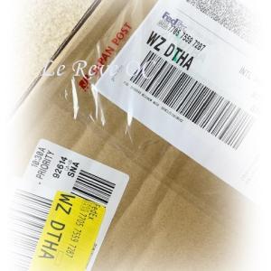 FedExでやっと届きました♪