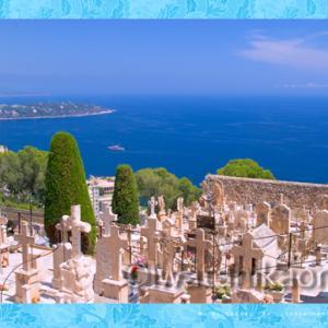 モナコの墓地からの眺め