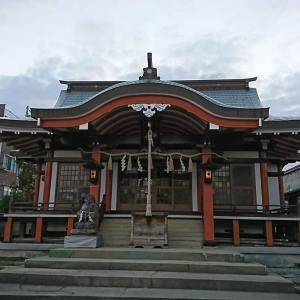 麻runの途中、東浜恵美須神社に寄ってみた。