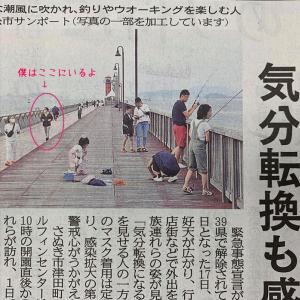 四国新聞に盗撮された。