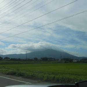筑波山頂は雲の中