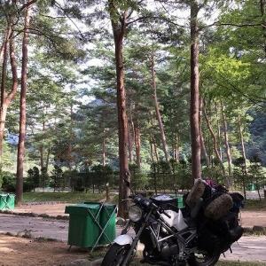 ヤマハ R1-Z:奥飛騨キャンプツーリング