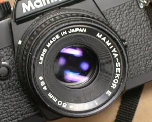 マミヤ セコールE 50mmF2