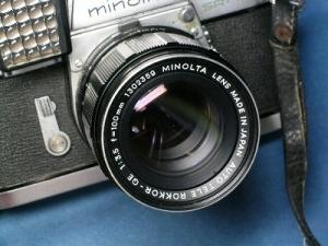 ミノルタ オートテレロッコール-QE 100mmF3.5