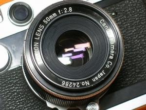 キヤノン 50mmF2.8(Lマウント)