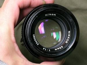 Newニッコール50mmF1.4