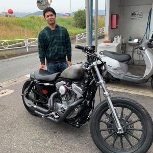 熊本 S氏 2008 XL883 チューニング他