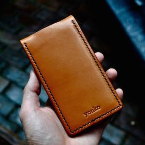 iphone 8/7 leather case + flap