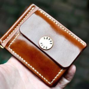 money clip + coin